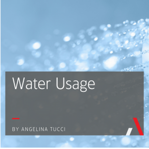 Water Usage by Angelina Tucci